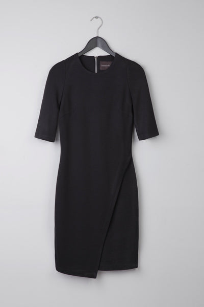 Wrap Stretch-Jersey Dress
