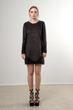 HEXAGON SWEATER DRESS