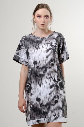 CLOUDS SHIRT DRESS