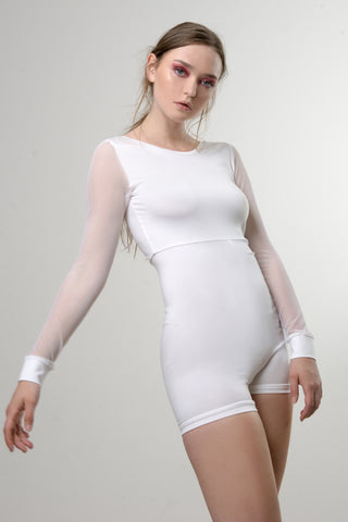 ROMPER BODY WHITE