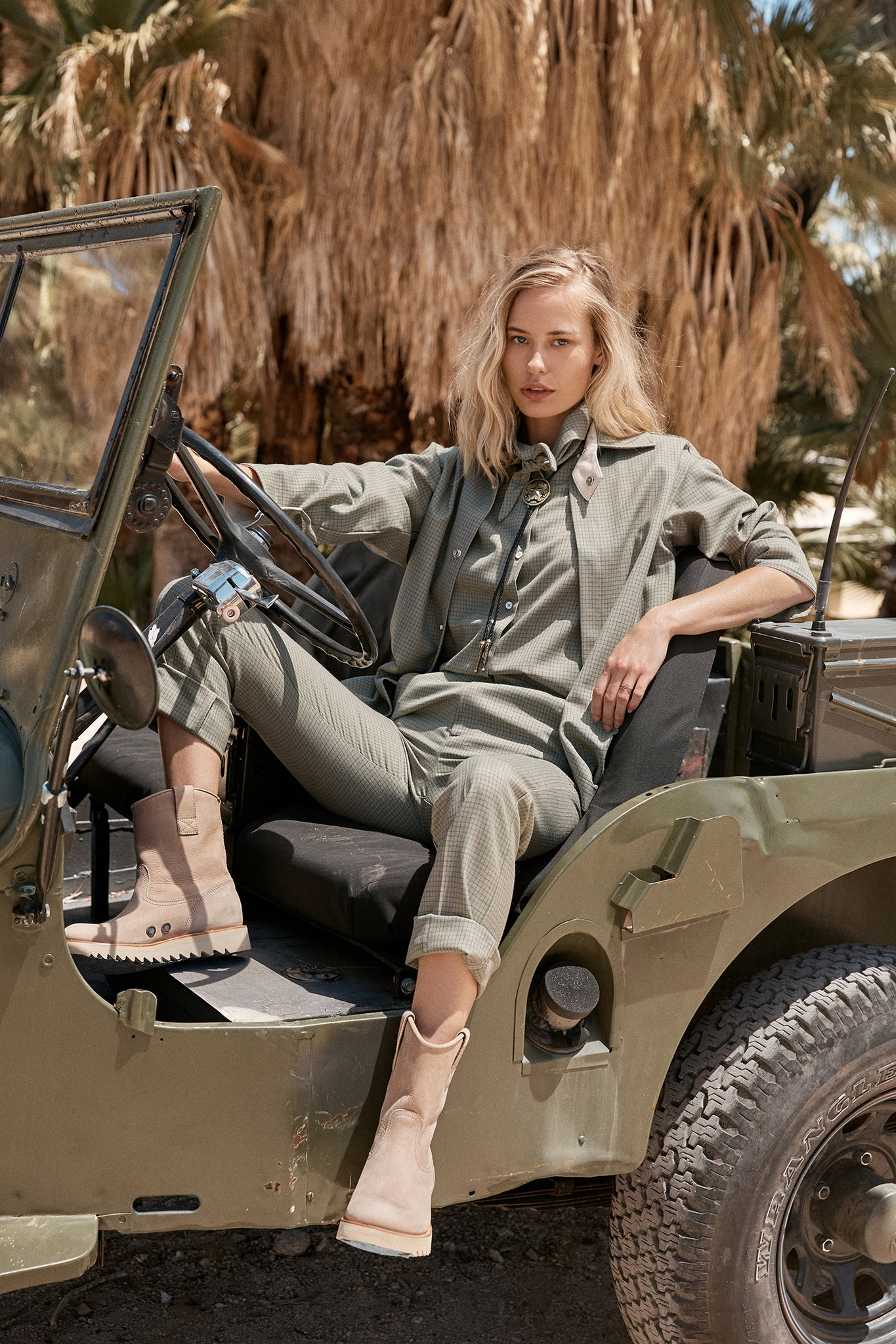 RANCH ROAD BOOTS - WOMEN - CURRENT ISSUE WELLINGTON - DESERT BOOT
