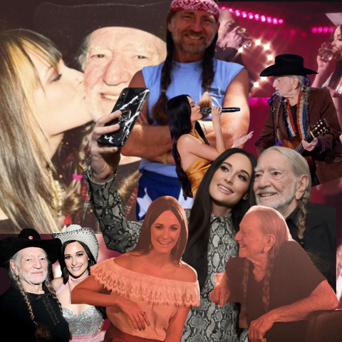 KACEY MUSGRAVES WILLIE NELSON DIME STORE COWGIRL