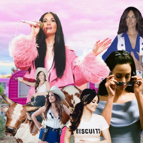KACEY MUSGRAVES CALIFORNIA STARS DIME STORE COWGIRL