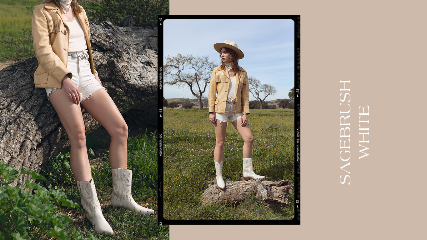 Ranch Road Boots-Women's Boots-Spring-Summer-2020-Sagebrush-White-Western-Boots
