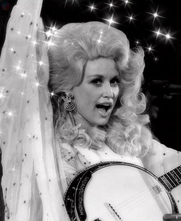 "Dolly Parton - ""Always be a diamond in world full or rhinestones""."