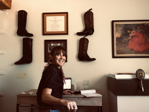 Sarah Ford The Founder of  Ranch Road Boots