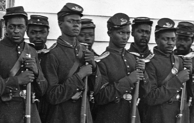 Buyenlarge | Getty Images | Free African Americans that joined the US Armed Forces