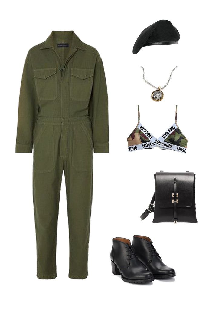 Womens military fashion trend style guide