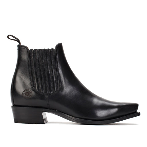 Ranch Road Boots Fall Collection 2019 - Veronica Black Leather Boot