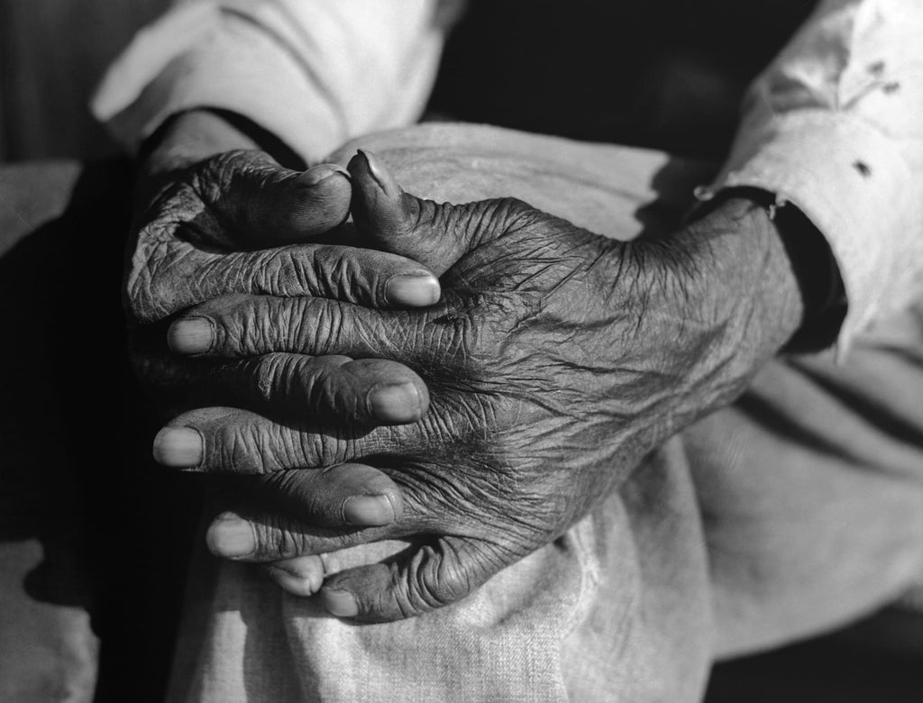 Henry Brooks | Work-weathered hands | Green-County Georgia | Getty Images