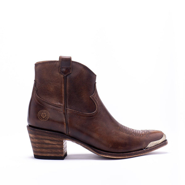 Ranch Road AGAVE RAND BROWN Booties