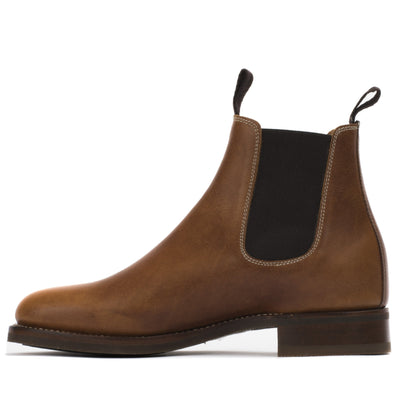 Handmade Mens All Weather Boots - Chelsea Boot - Ranch Road Boots™ Side