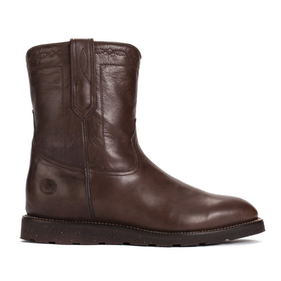 Mens Handmade Bexar Wedge Brown Casual Boots - Ranch Road Boots™