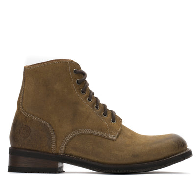 Mens Handmade Leather Military Boondocker Boots - Ranch Road Boots™