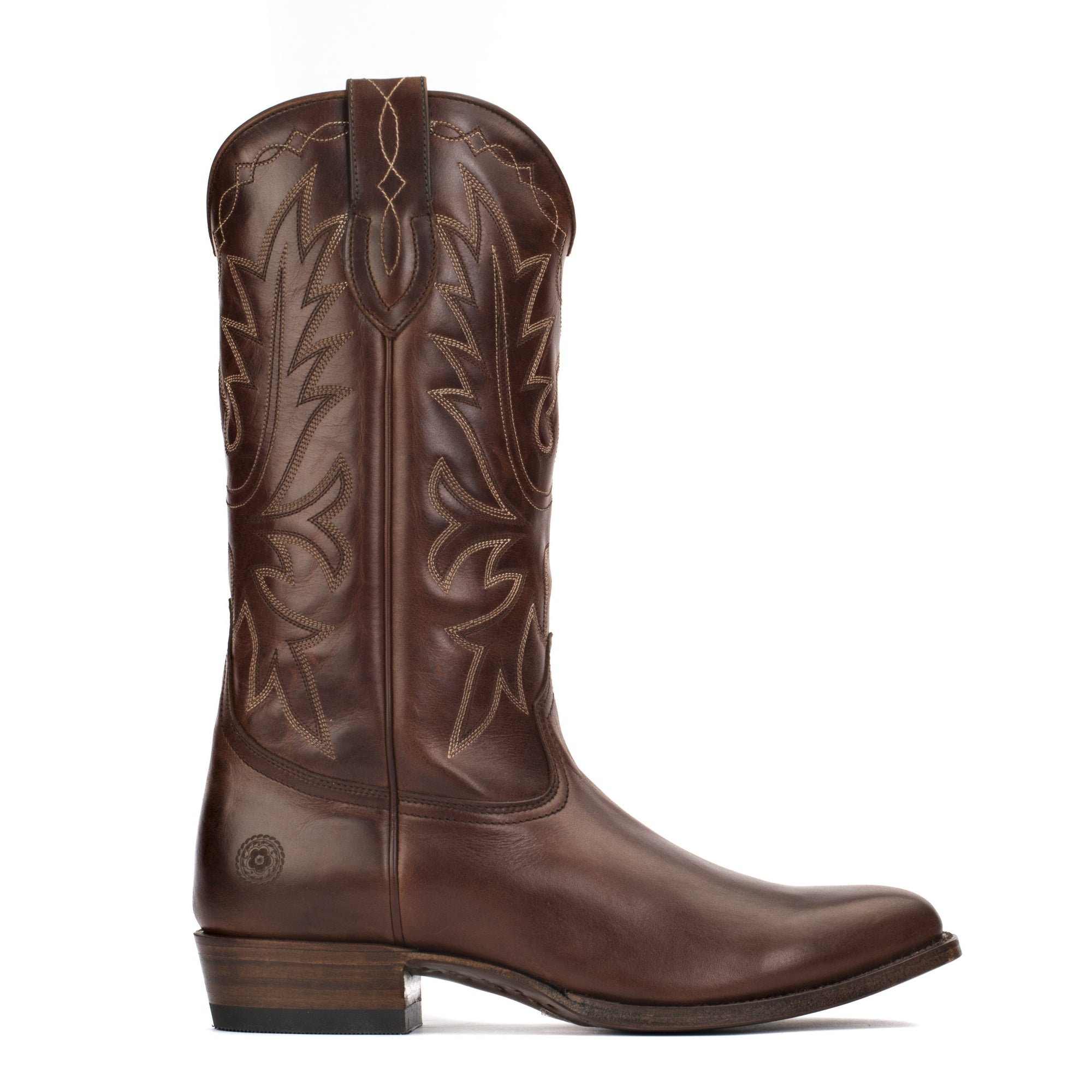 Mens Carson County Brown Handmade Cowboy Boots - Ranch Road Boots™