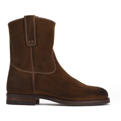 Mens Gunner Brown - Handmade Wellington Boots - Ranch Road Boots™
