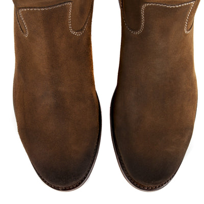 Mens Gunner Brown - Handmade Wellington Boots - Ranch Road Boots™ Top