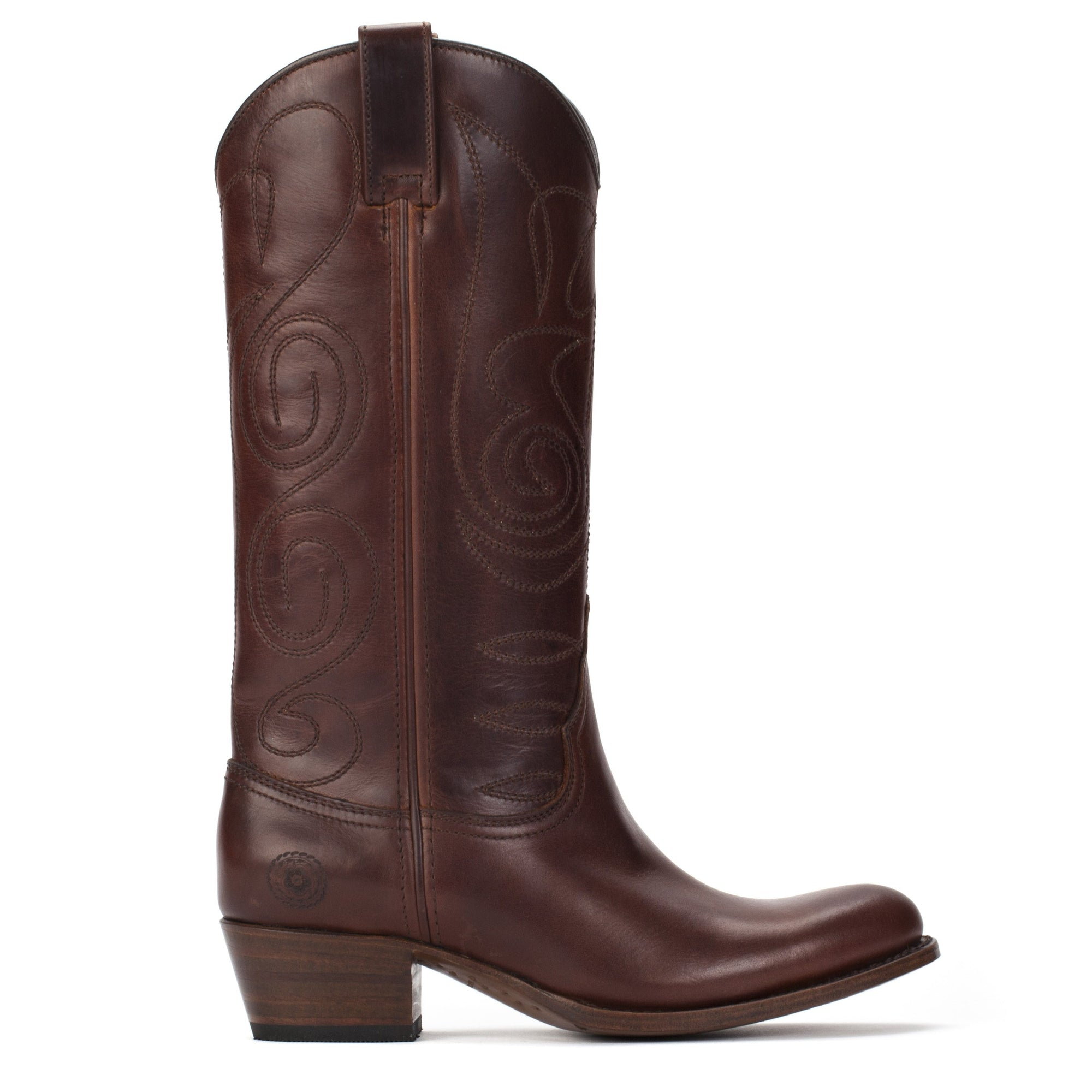 Womens Kendall Brown - Contemporary Cowboy Boots - Ranch Road Boots™