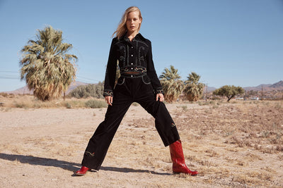 Womens Kendall Red - Luxury Leather Cowboy Boots - Ranch Road Boots™ Model