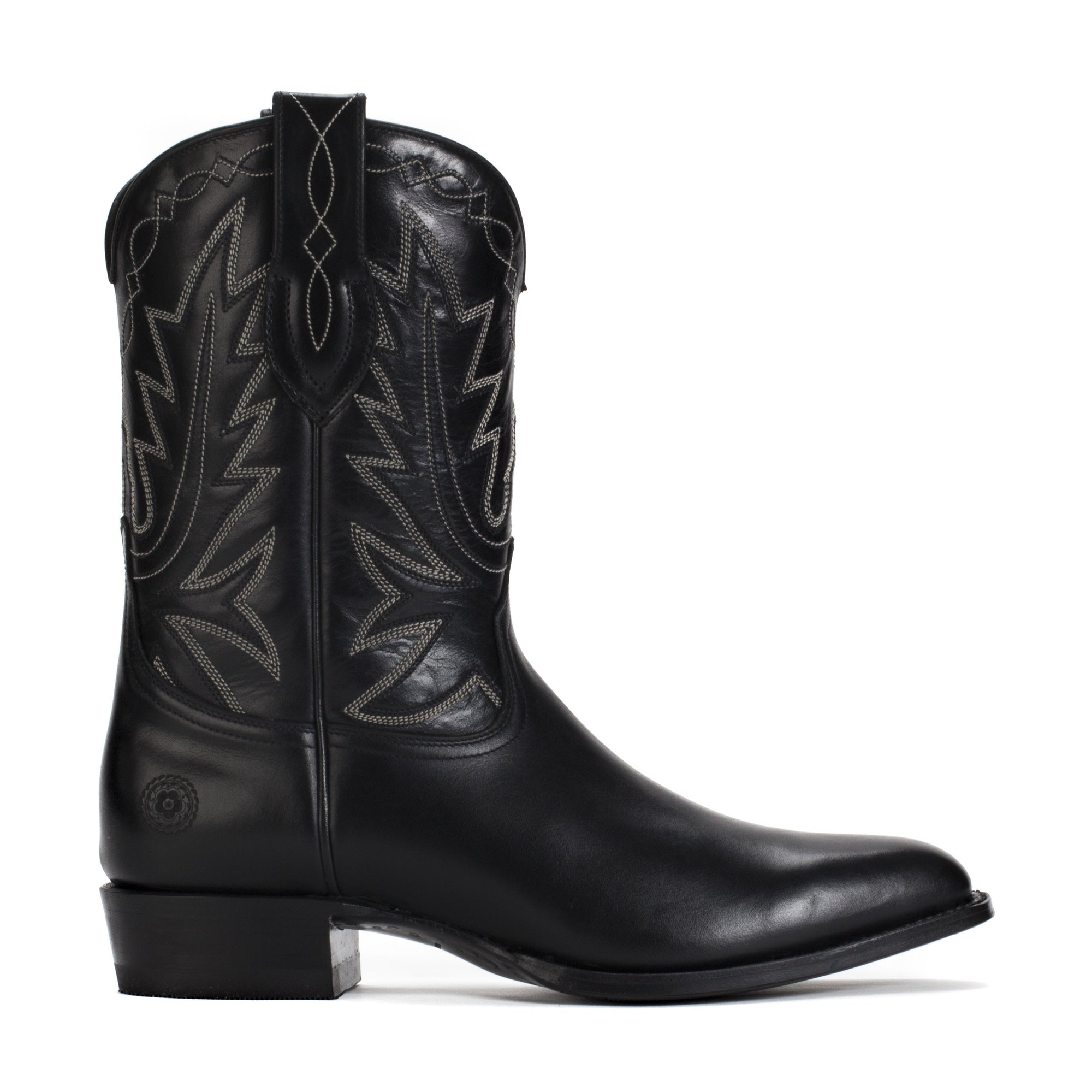 Mens Maverick Black - Vintage-Style Western Boots - Ranch Road Boots™
