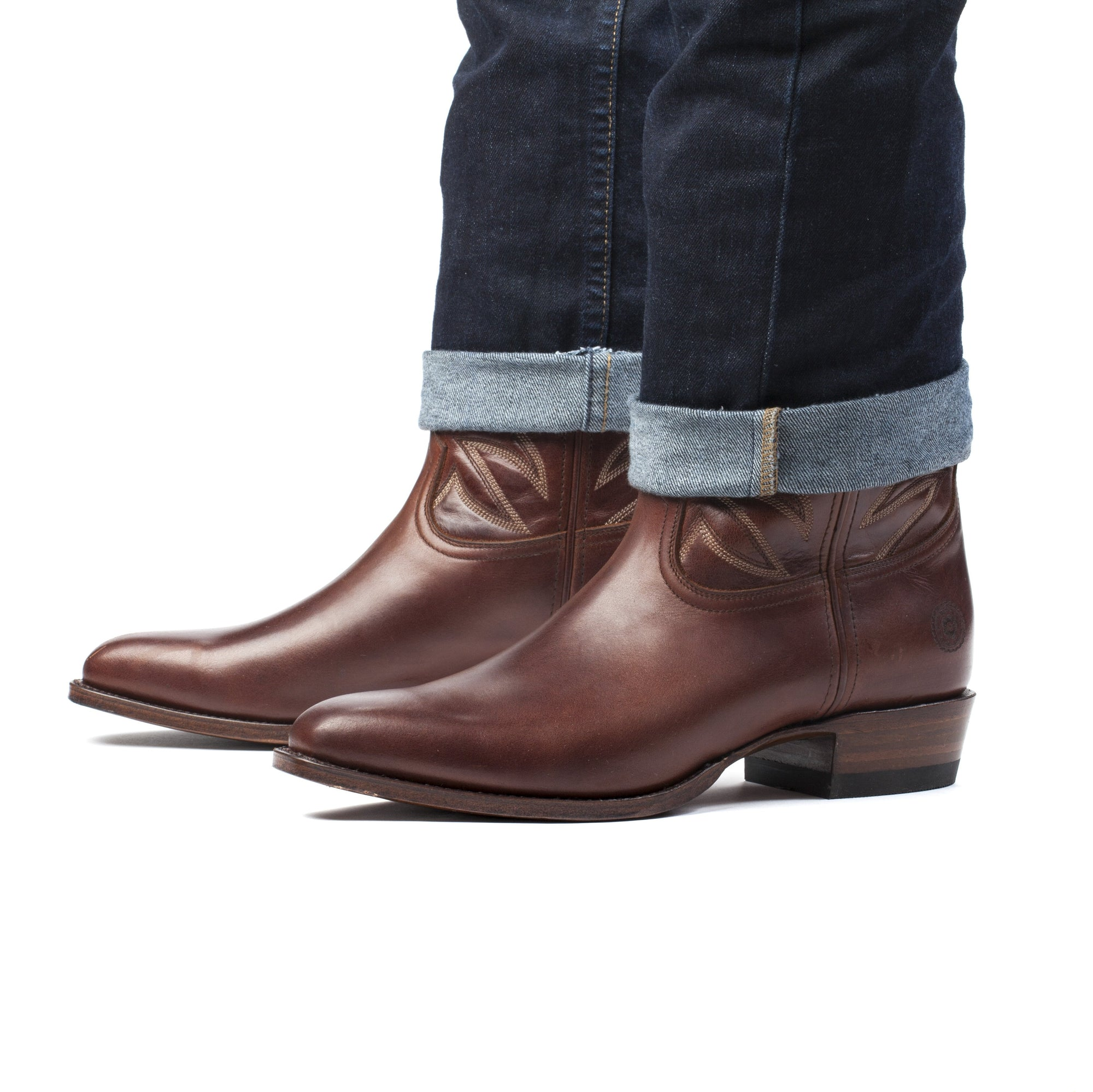 Mens Maverick Brown - Vintage-Style Cowboy Boots - Ranch Road Boots™