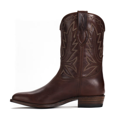 Mens Maverick Brown - Vintage-Style Cowboy Boots - Ranch Road Boots™ Inner Side