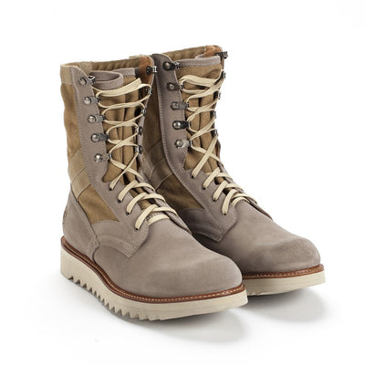 Mens Current Issue Sand - Military-Style Boots - Ranch Road Boots™ Front Side Pair View