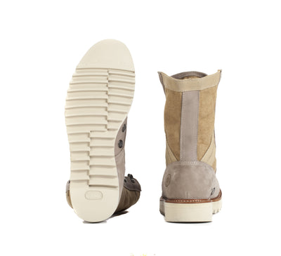 Mens Current Issue Sand - Military-Style Boots - Ranch Road Boots™ Bottom Heel
