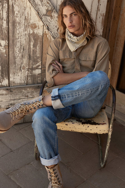 Mens Current Issue Sand - Military-Style Boots - Ranch Road Boots™ Model