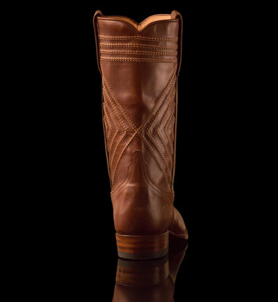 Mens Frio County - Modern Cowboy Boots - Ranch Road Boots™ Back Heel Detail