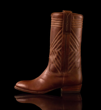 Mens Frio County - Modern Cowboy Boots - Ranch Road Boots™ Outer Side Stitching Detail