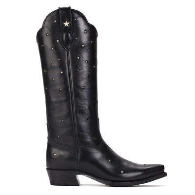 Womens Presidio Black - Tall Shaft Cowboy Boots - Ranch Road Boots™