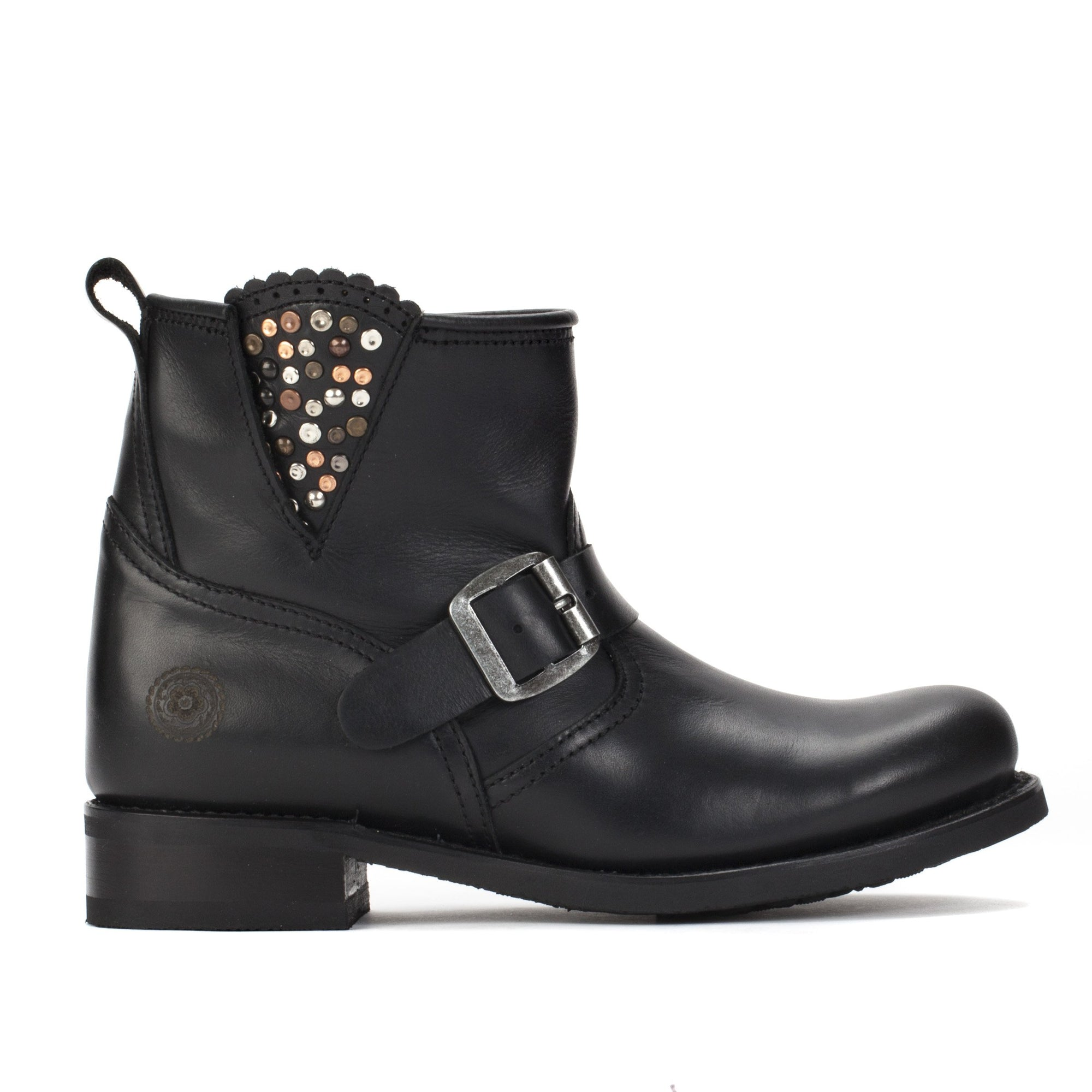 Womens Reagan Black - Souch Leather Booties - Ranch Road Boots™