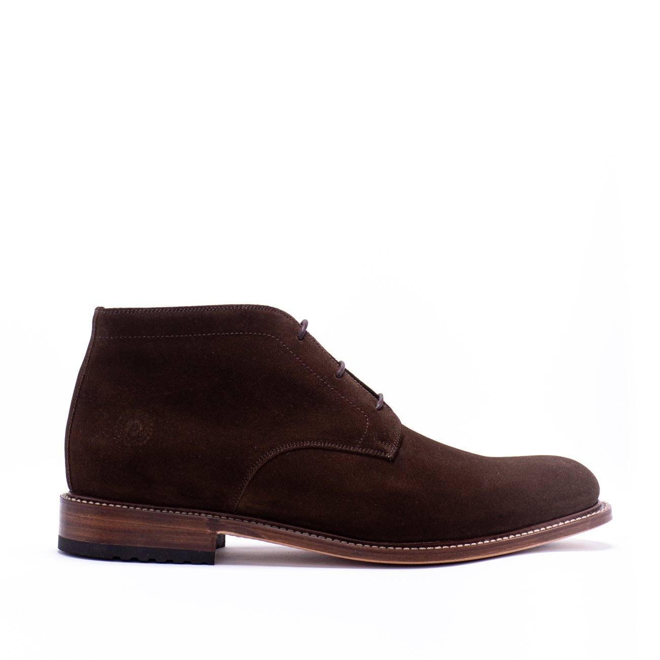 Boot - Redseed Chukka Dark Brown Suede