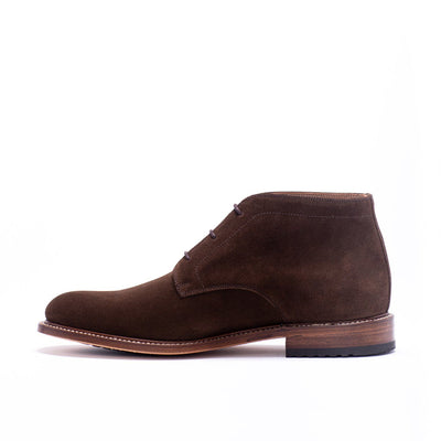 Mens Redseed Chukka Brown Suede Boot - Ranch Road Boots™ Side