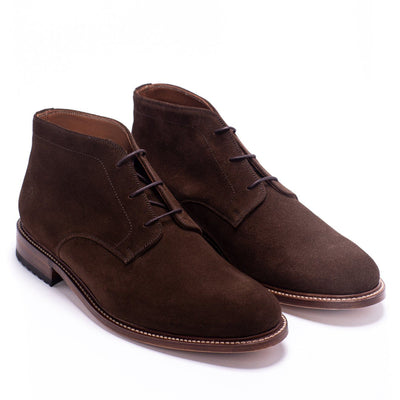 Mens Redseed Chukka Brown Suede Boot - Ranch Road Boots™ Pair