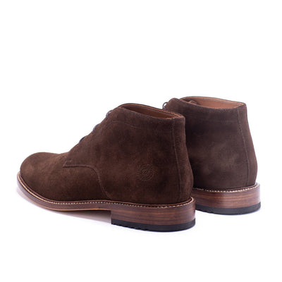Mens Redseed Chukka Brown Suede Boot - Ranch Road Boots™ Back Side Pair
