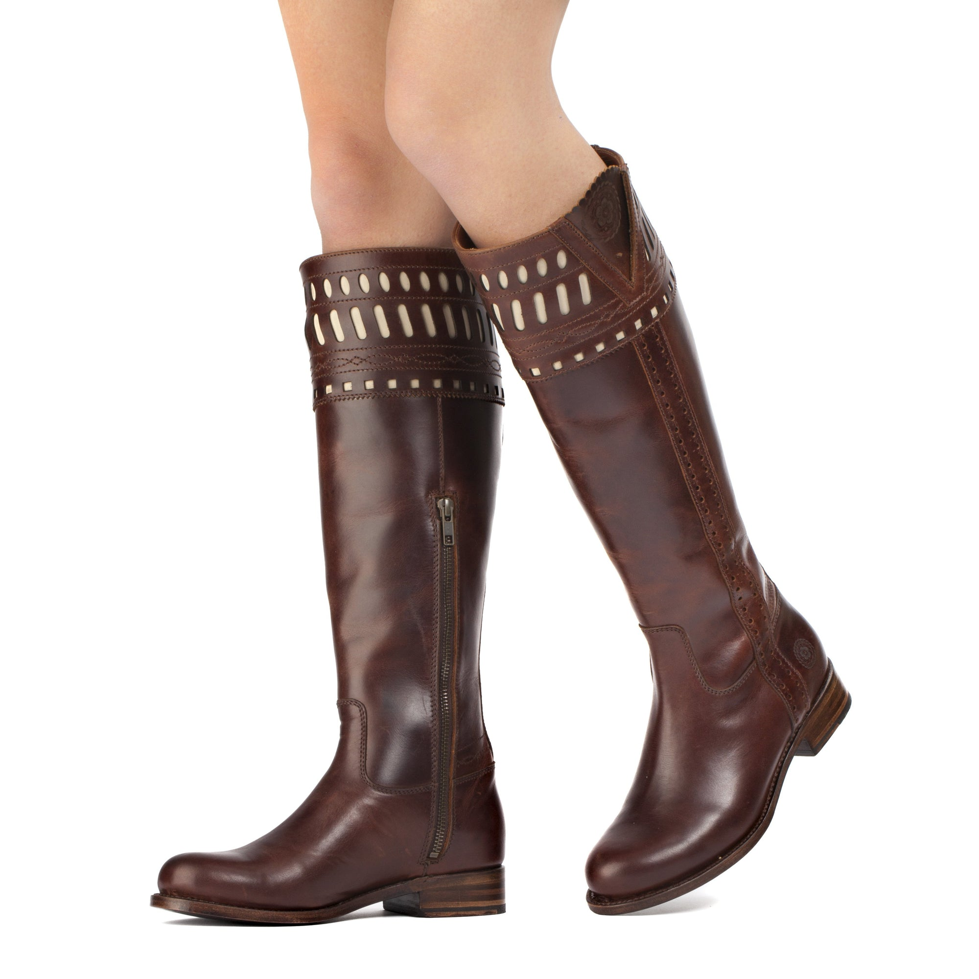 Womens Shelby Brown - Classic English Riding Boots - Ranch Road Boots™