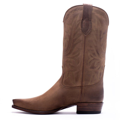 Mens Yoakum Tan Leather Western Boot - Ranch Road Boots™-Inner Side