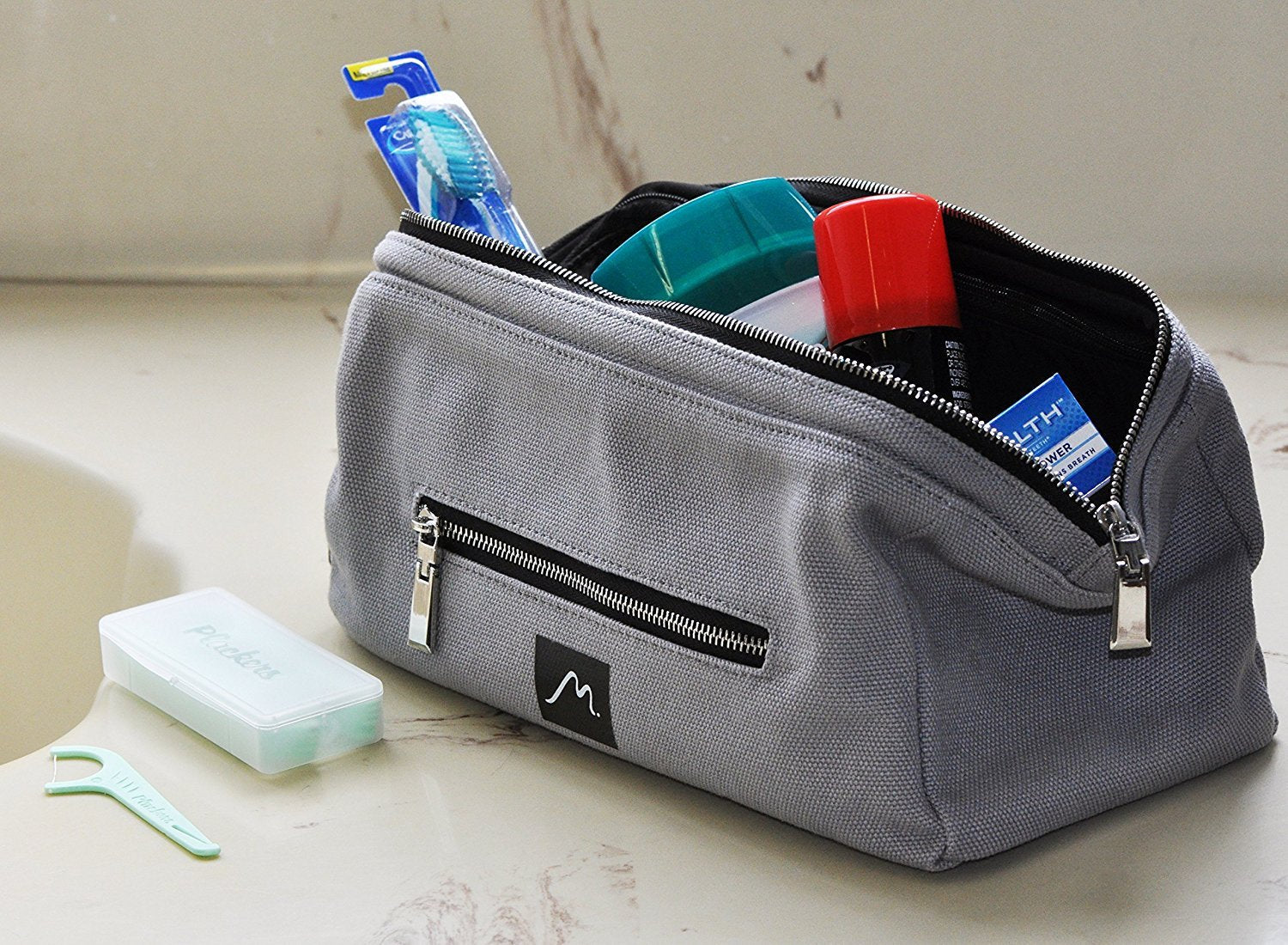 Travelling Toiletry Bag Jr. Minimalist Bathroom Accessory by Metier Life