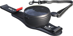 Lishinu Retractable Hands Free Dog Leash - Black