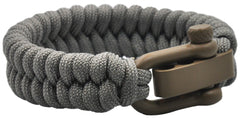 Cha-O-Ha Handmade Adjustable EDC Bracelet: Simple Weave, Adaptive Light Earth Shackle