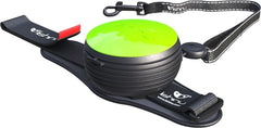 Lishinu Retractable Hands Free Dog Leash - Green