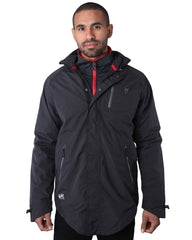 Psyberia Men's Internationalist Waterproof Nylon Jacket