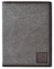Field Notes / Moleskine Pocket Notebook Cover by Metier Life - Grey/Brown