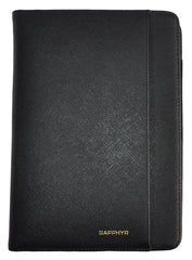 "Sapphyr Saffiano Leather Jr. Padfolio (6"" x 8.75"")"