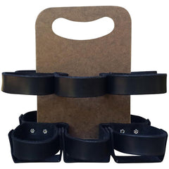 "Walnut Studiolo ""The Spartan Carton"" 6-Pack - Black/Masonite"