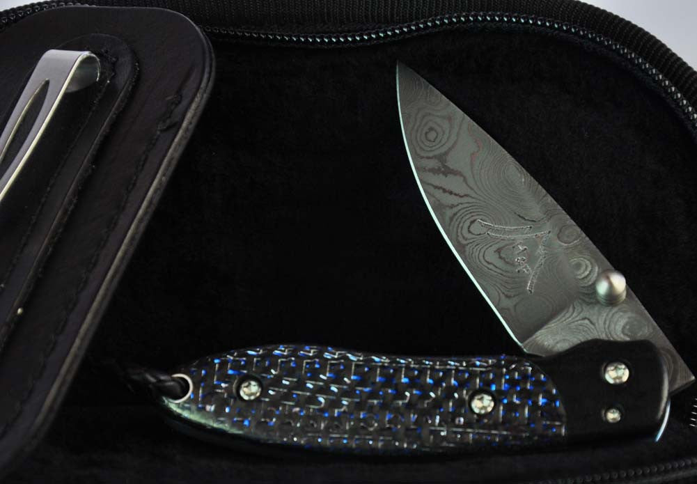 Copy of Higgins and Peak Gentlemen's Folder Pocket Knife Carbon Fiber