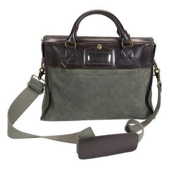 Ducti - Cavalier Attache Green Laptop Messenger Bag