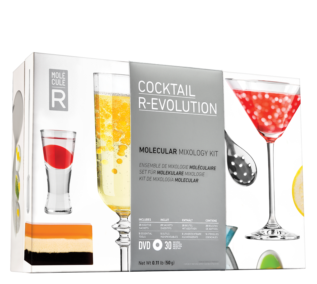 COCKTAIL R-EVOLUTION Molecular Mixology Kit